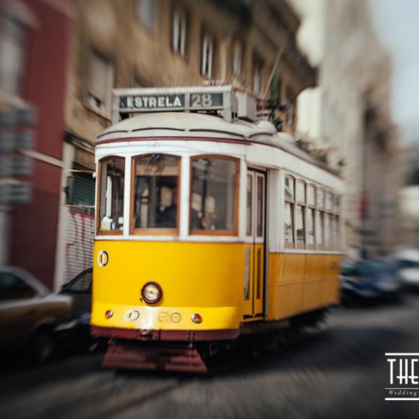 Lisbon on a lensbaby