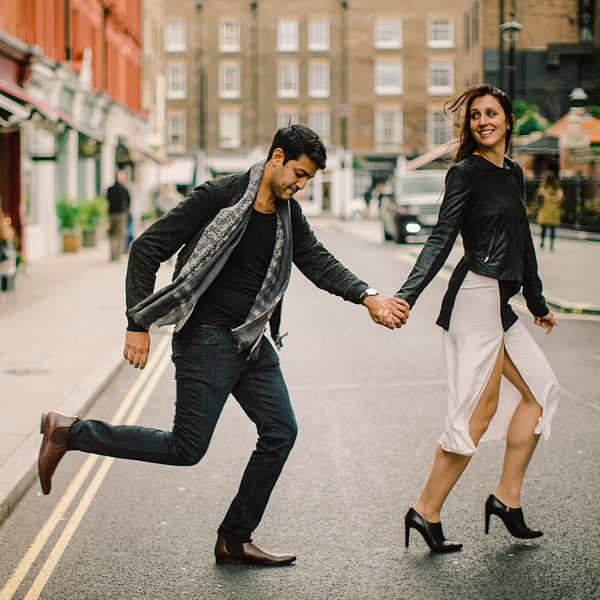 Meredith & Sachin // Engagement in London