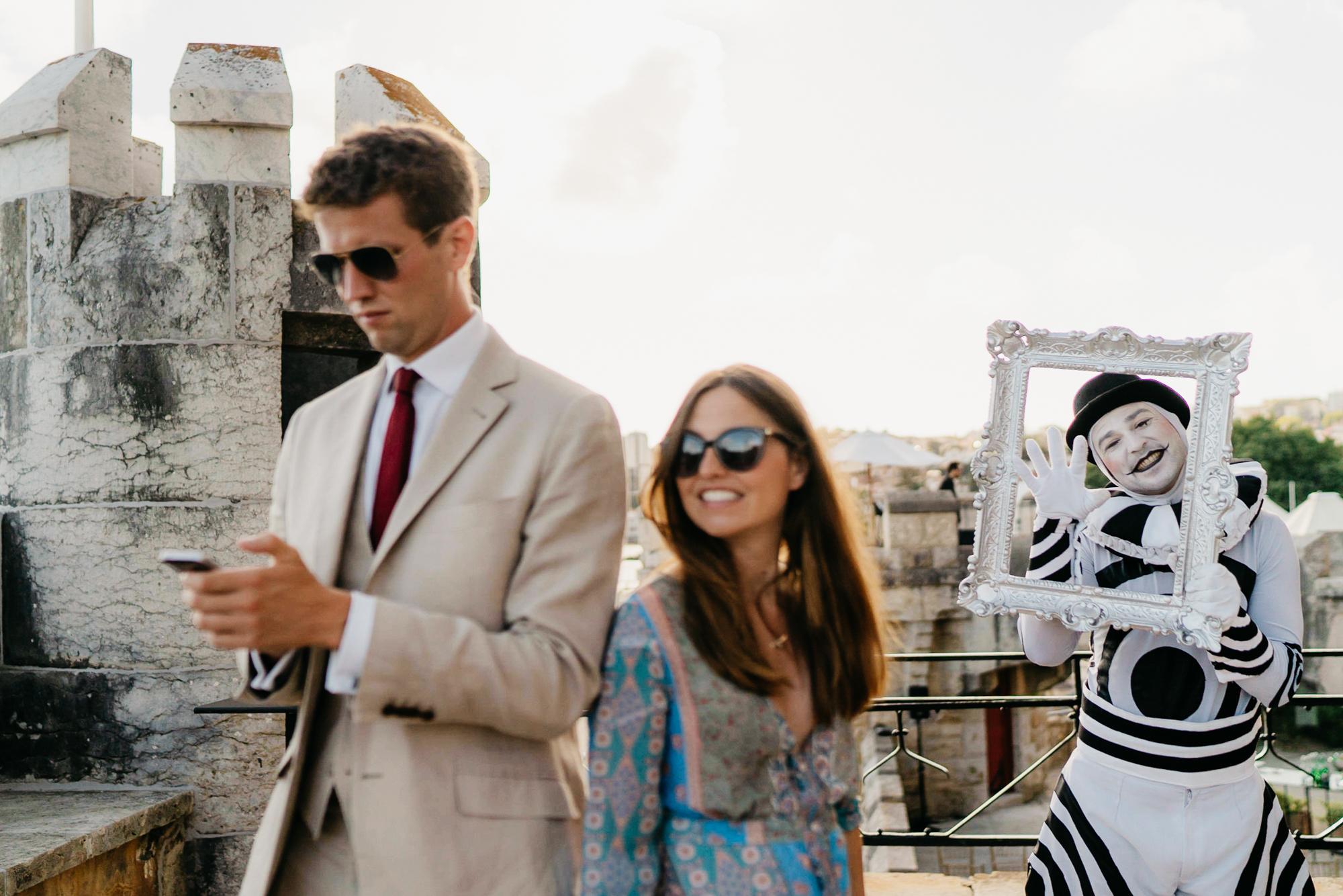 Forte da Cruz destination wedding the framers