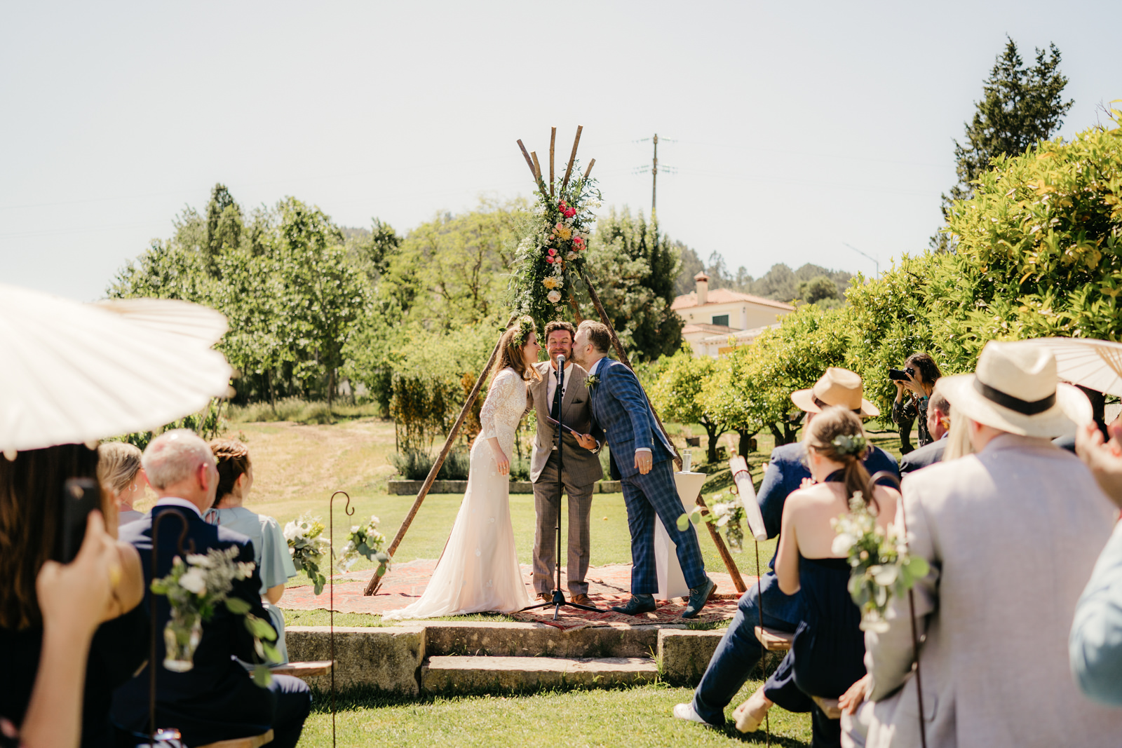 quinta de santana destination wedding the framers