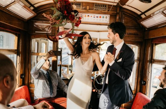 lisbon tram wedding the framers