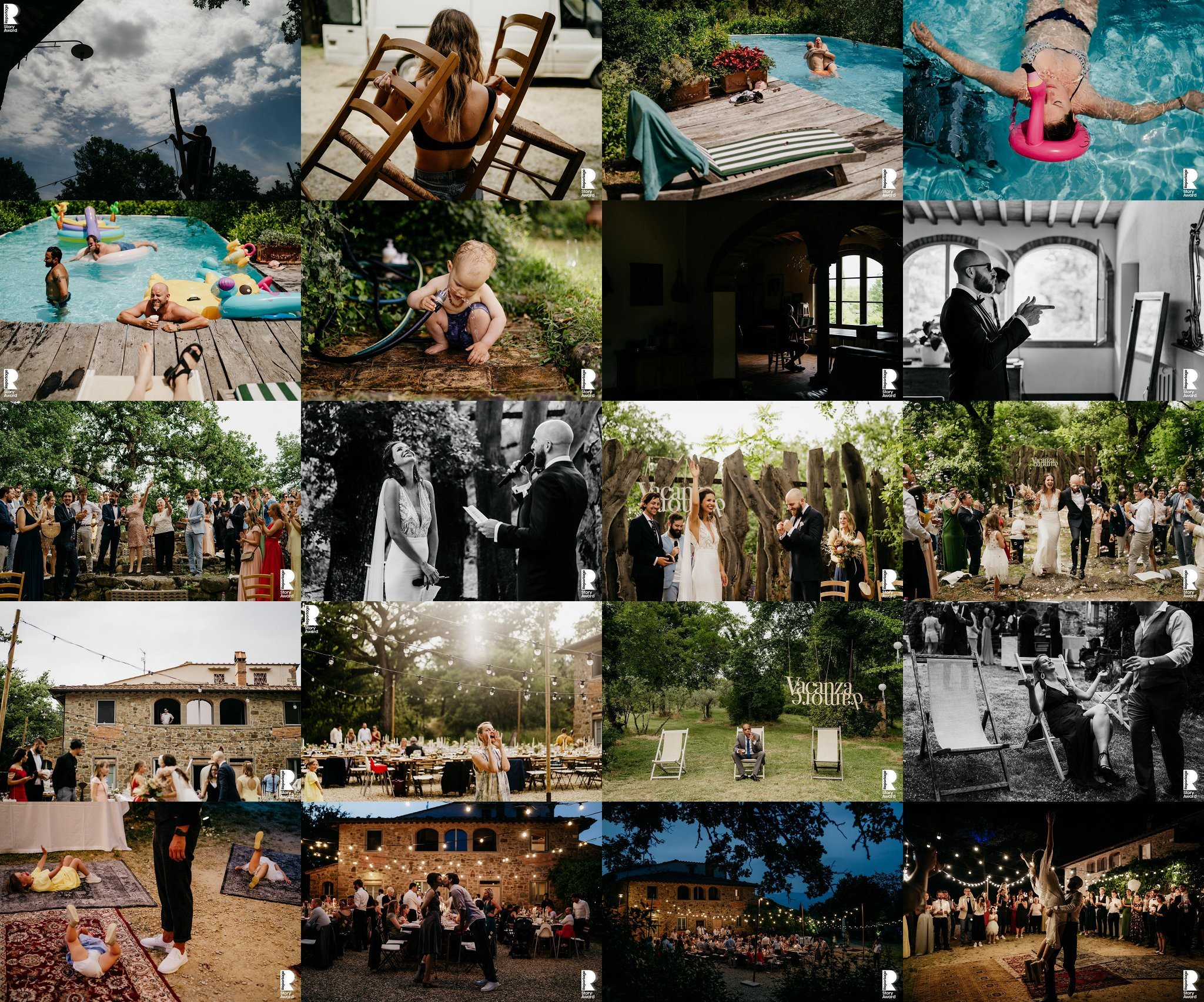 this is reportage award tuscany wedding the framers