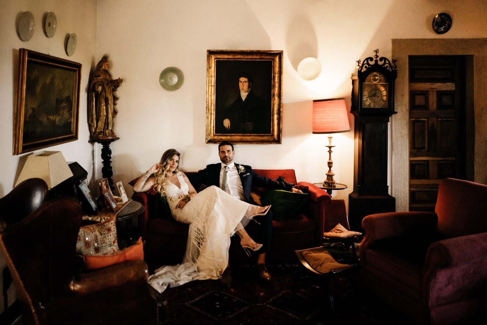 intimate wedding quinta sao thiago the framers
